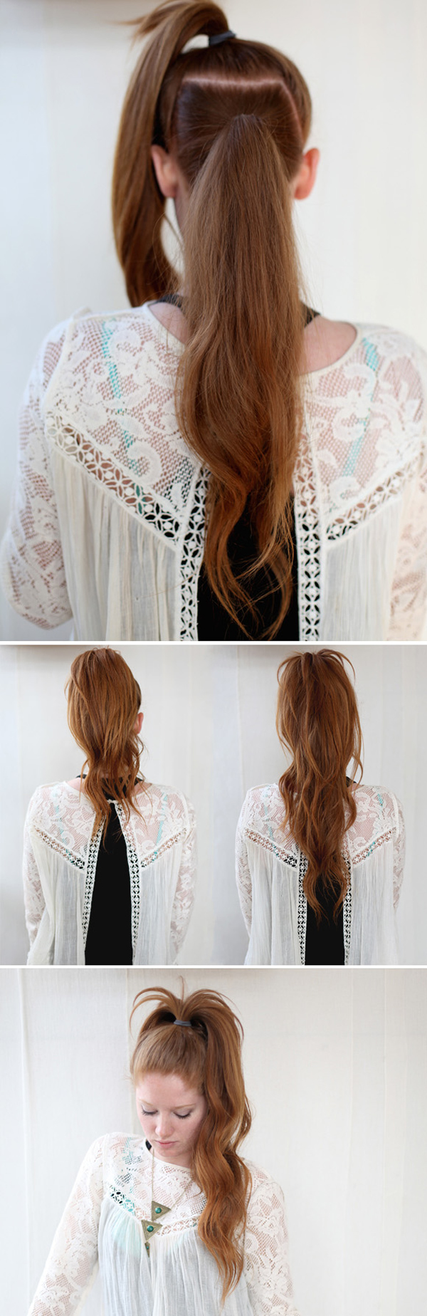13 Five-Minute Hairstyles For School   stylequick